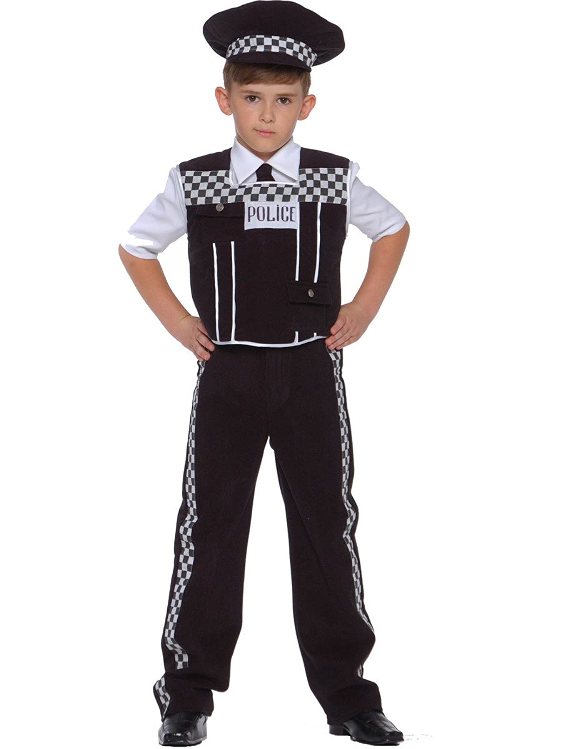 dress up america deluxe police dress up costume set includes