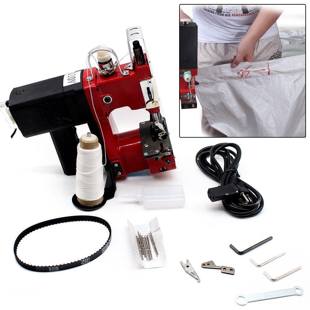 Amazon.com: Máquina de coser de sellado, bolsa eléctrica ...