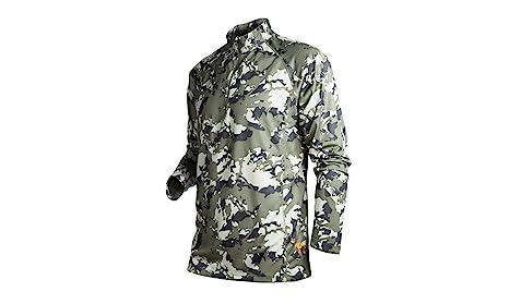 oncafresh Hombres de manga larga camisa de camuflaje táctico para actividades al aire libre, hombre, Ibex Camo: Amazon.es: Deportes y aire libre