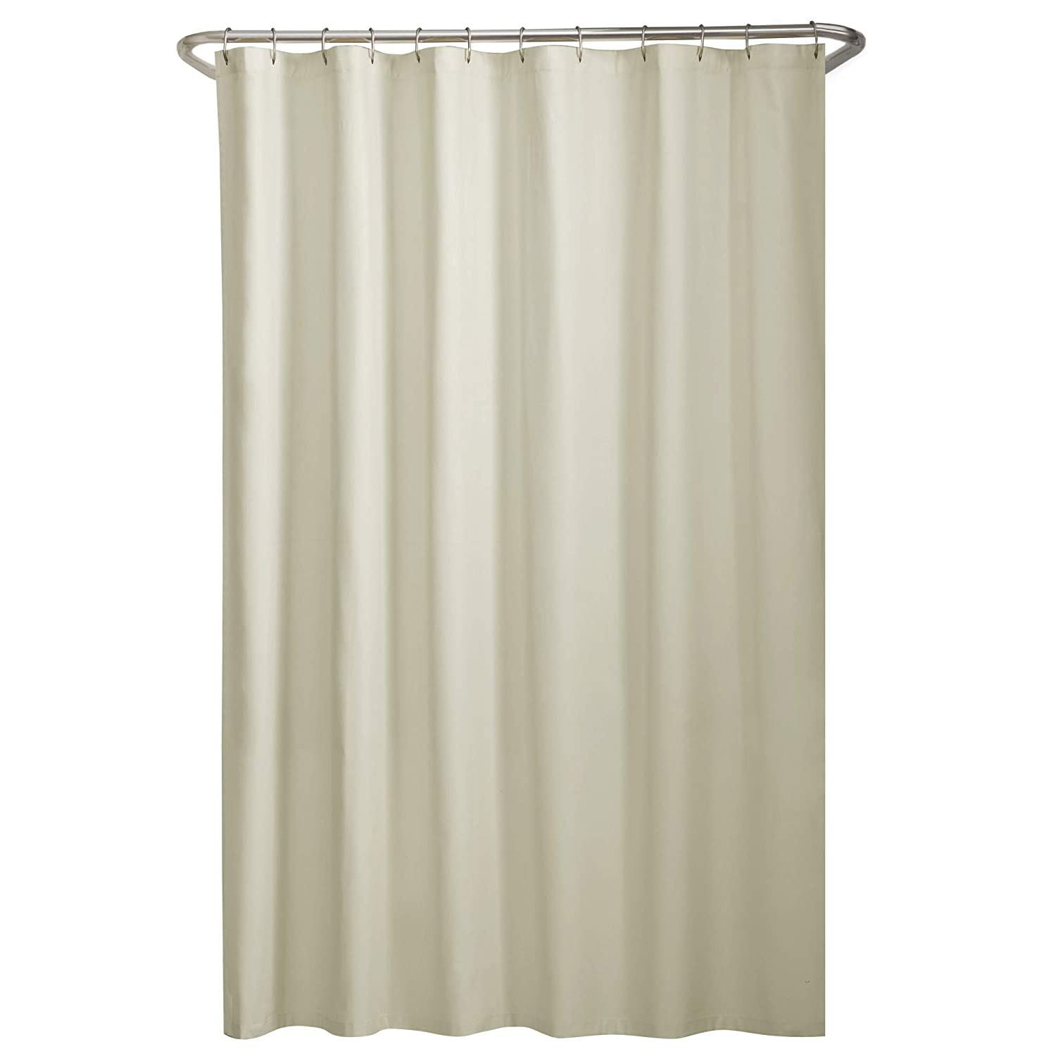 Maytex Water Repellent Fabric Shower Curtain Or Liner Machine Washable 70 X 72 Amazonca Home Kitchen