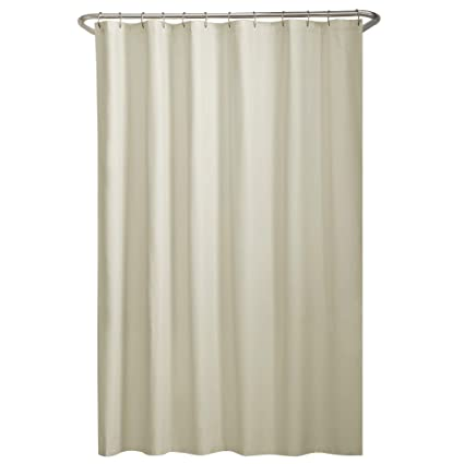 Image Unavailable Not Available For Color MAYTEX Water Repellent Fabric Shower Curtain Liner