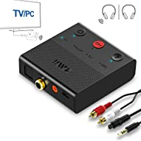 Deals on 1Mii Bluetooth 5.0 Transmitter for TV PC Wireless Audio Adapter
