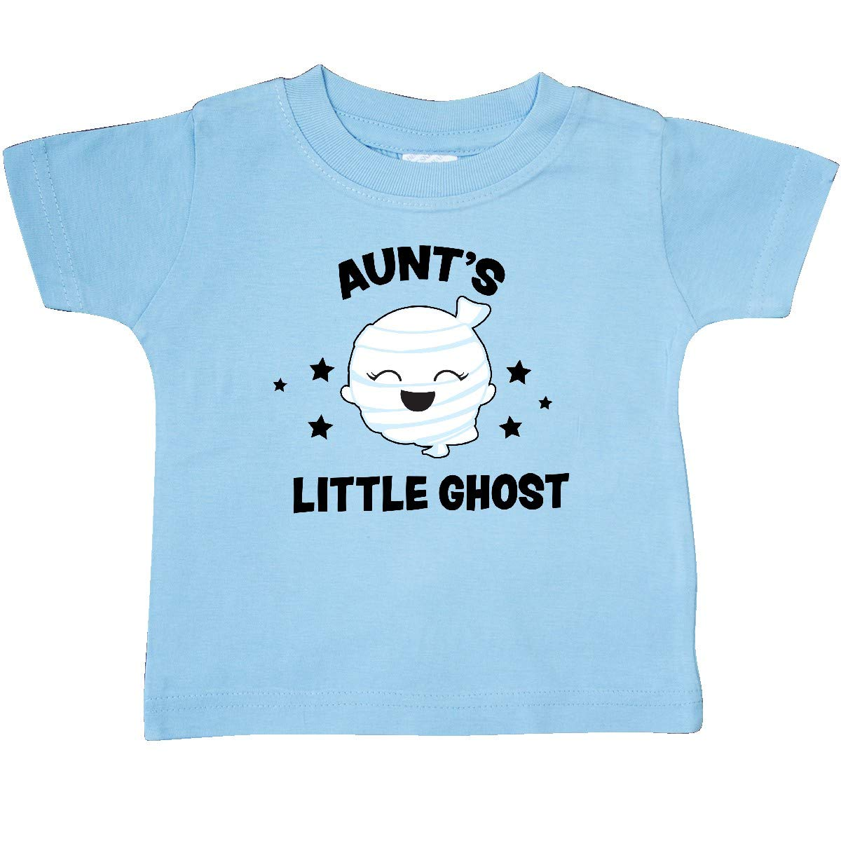 inktastic Cute Aunts Little Ghost with Stars Baby T-Shirt