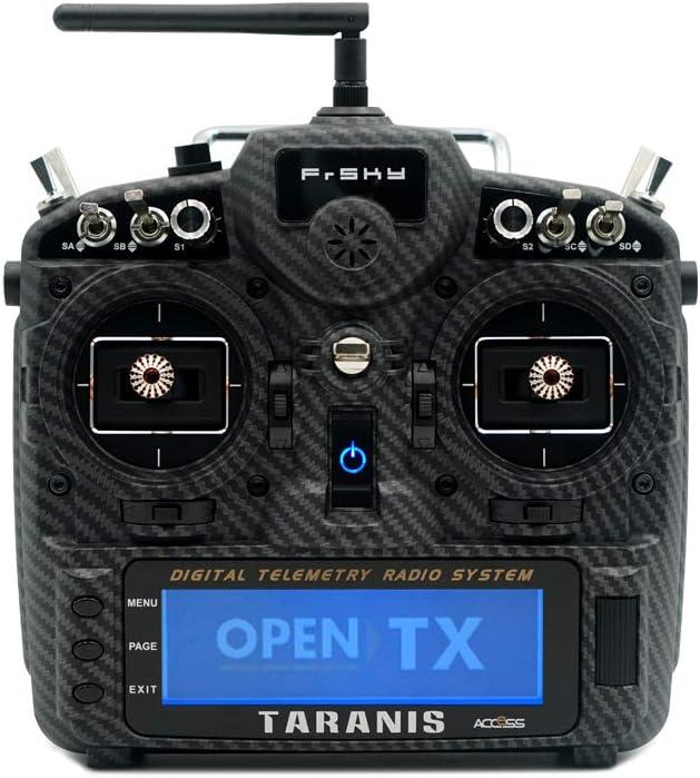 FrSky Taranis X9D Replacement Shell Carbon Fiber