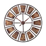 Hamptons Collection Outdoor Wall Clock