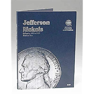 Whitman U.S. Jefferson Nickel Coin Folder 1962-1995 Volume 2 #9039: Toys & Games