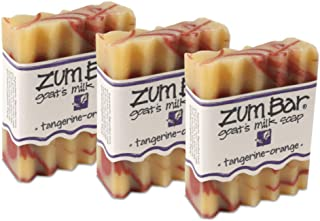 product image for Indigo Wild Zum Bar Goat's Milk Soap - Tangerine Orange 3 Pack