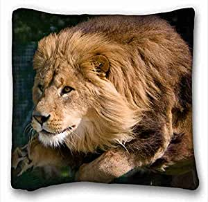 Custom Cotton & Polyester Soft Animal Custom Zippered Pillow Case 16x16 inches(one sides) from Surprise you suitable for Full-bed