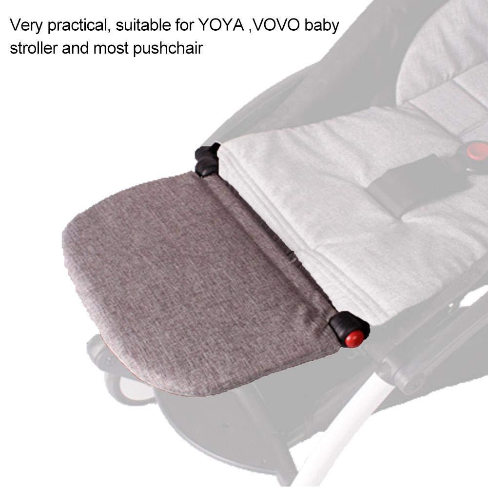 Reposapi/és para cochecito tabla extendida para Babyzen Yoya YOYO 21 cm Accesories Footboard gris gris