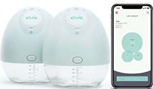 Elvie Pump Double Silent Wearable Breast Pump with App
