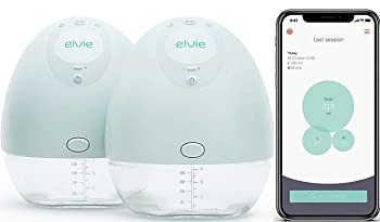 Elvie Double Electric Hands-Free Breast Pump