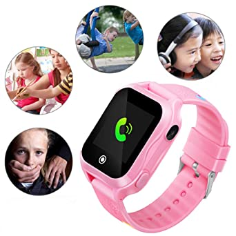 Hangang Kids Smart Watch Localizador GPS 3-12 años Niños con ...
