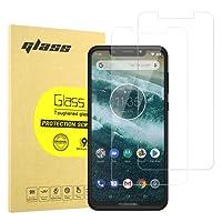 Hianjoo [2-Pack] Protector de Pantalla para Motorola One, [9H Dureza] [Anti-Rayaduras] [3D Touch Compatible] Vidrio Cobertura Completa de Cristal Templado para Motorola One - Negro