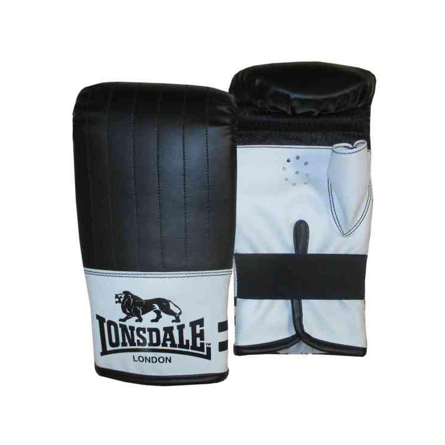 Lonsdale Contender Mitones Guantes Boxeo Kick Mma Hand Wraps Fight Entrenar