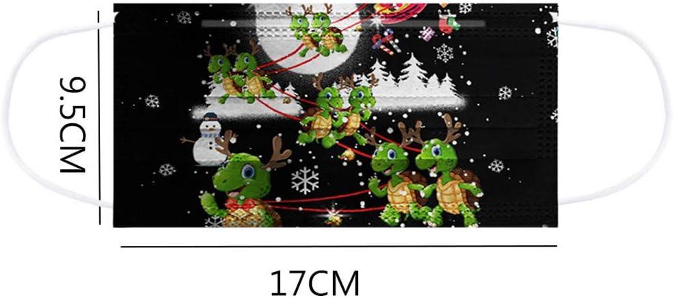 Tre Strati protettivi per prevenire Polvere e Gocce NellAria Natale Cielo Stellato Universo Dinosaur Farfalla Rosa Sacchetto Protettivo monouso per Adulti 50 Pezzi per Sacchetto