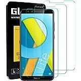 InteCasa [3 Pezzi Vetro Temperato per Huawei Honor 9 Lite, Pellicola Protettiva Vetro Temperato Screen Protector per Huawei Honor 9 Lite - Trasparente