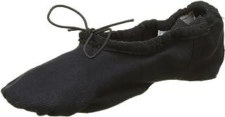 KHM M001HC Stretch-One Chaussure de Danse Ballet pour Femme en Toile - Noir - 37 EU (Taille Fabricant: 7) KHMA5|#KHM