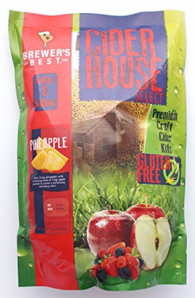 Home Brew Ohio Brewer's Best Cider House Select Pineapple Kit