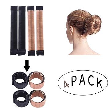 Amazon Women Girls Bun Hairstyle Maker Hair Styling Disk