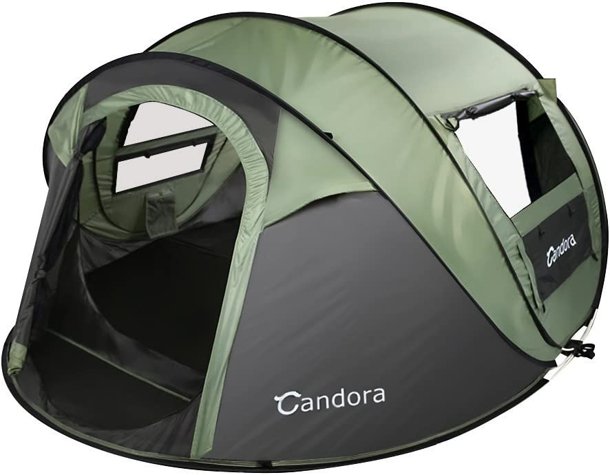 cheap 4 person pop up tent