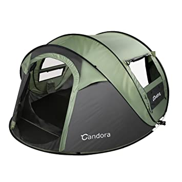 Candora 4-Person Instant Pop-Up Tent Pop Up Tent - Automatic Setup in  sc 1 st  Amazon UK & Candora 4-Person Instant Pop-Up Tent Pop Up Tent - Automatic Setup ...