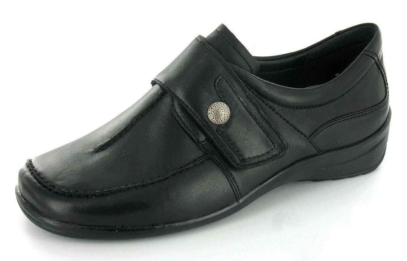 ARA, 46358, Meran,Damen, Schuhe mit Klettverschluß, Leder