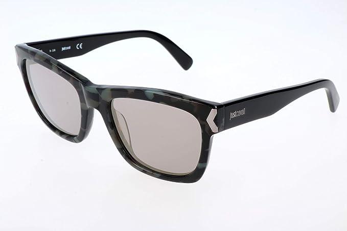 Just Cavalli Gafas de sol, Negro (Black), 53.0 para Mujer ...
