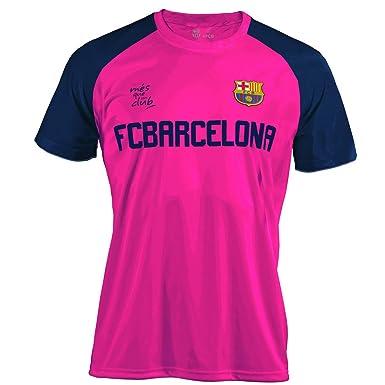 Barcelona F.C. BARÇA Camiseta Training 18 Fucsia T-L  Amazon.co.uk  Clothing bf31a2bfb14