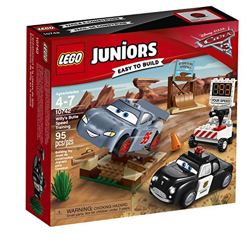 LEGO  Juniors Willy's Butte Speed Training 10742 Building (Ramp Training Set)