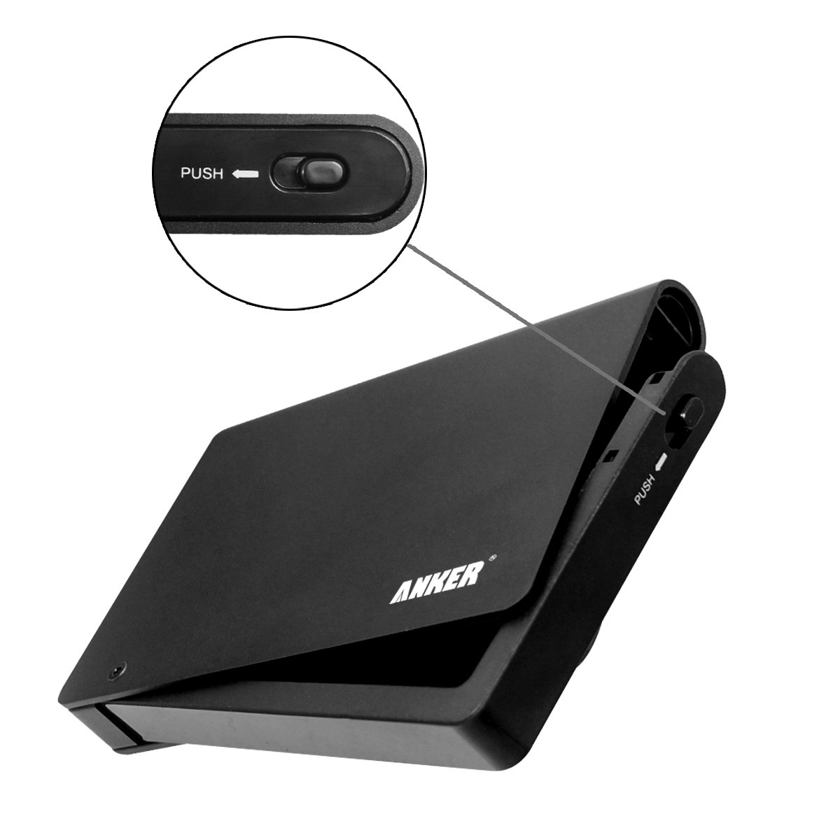 Anker® Uspeed USB 3.0 & eSATA Hard Drive Enclosure for 2.5-Inch ...