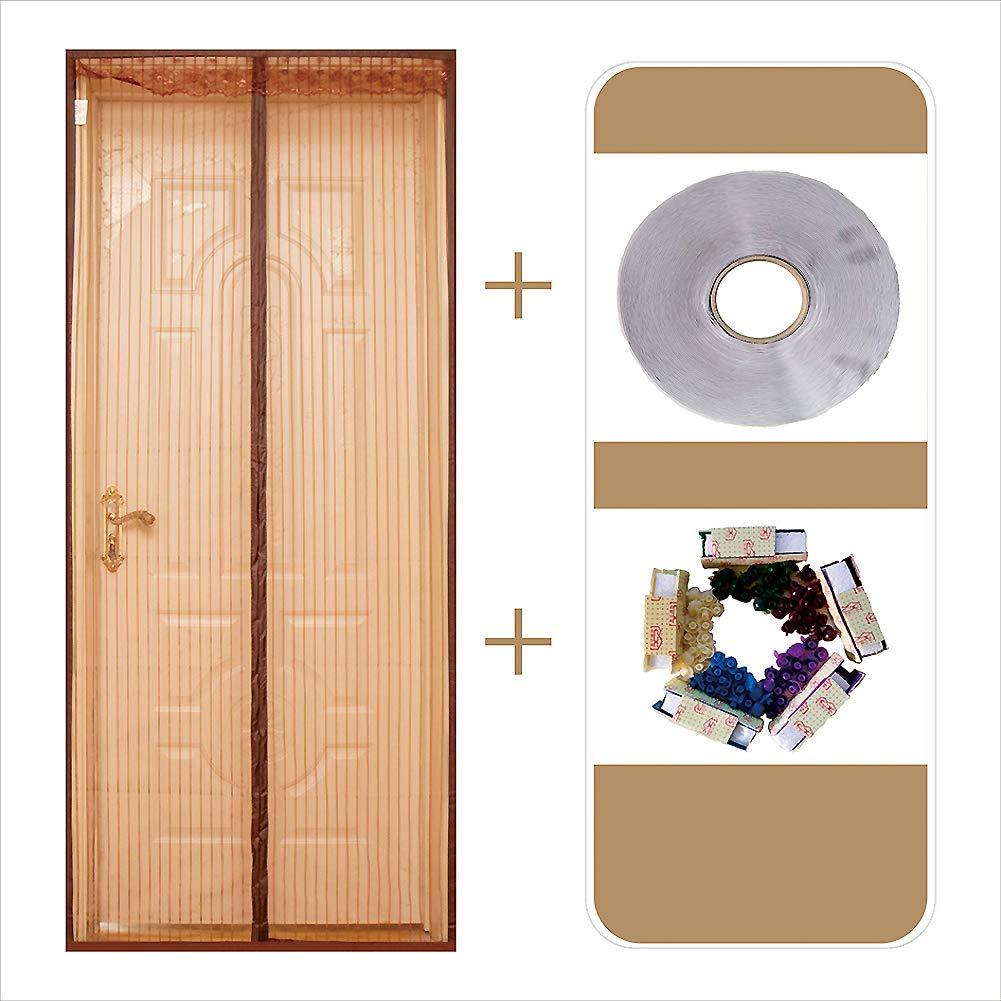 MUTE Etiqueta de magia magnetico de puerta de pantalla de malla, Cifrado Heavy duty Mosquitera magnética para puertas Impide mosquitos Niño y perro amistoso-D 90x210cm(35x83inch): Amazon.es: Bricolaje y herramientas