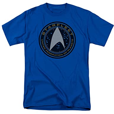 Star Trek Beyond Film Starfleet Patch With Delta Symbol Adult T