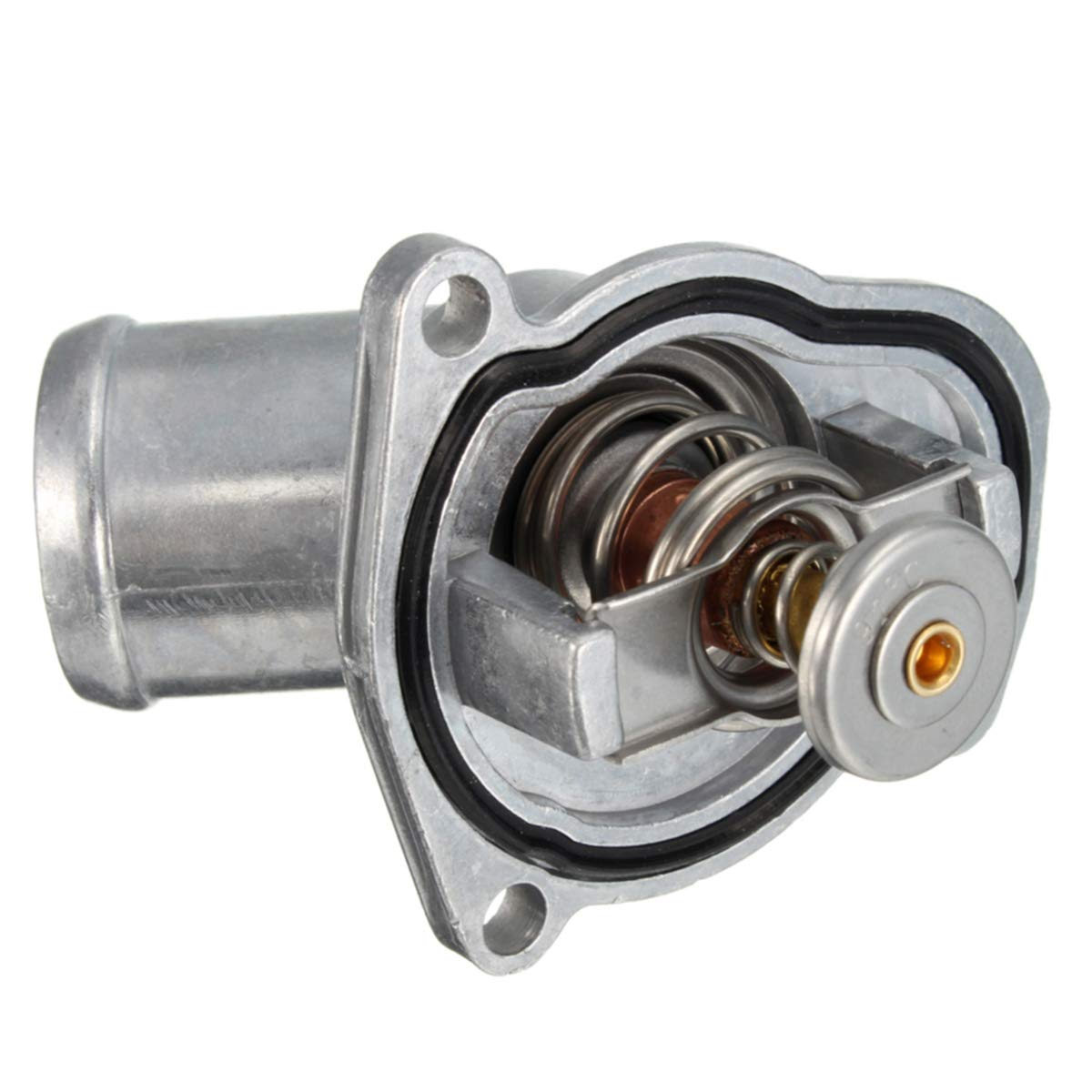 Viviance New Engine Coolant Thermostat Kit For Opel Vauxhall Corsa