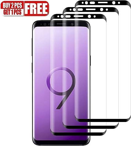 Compatibile con Custodia Pellicola Vetro per Samsung Galaxy S8 2 Pack Pellicola Protettiva in Vetro Temperato Screen Protector Ventdest Vetro Temperato Samsung S8 Pellicola Vetro