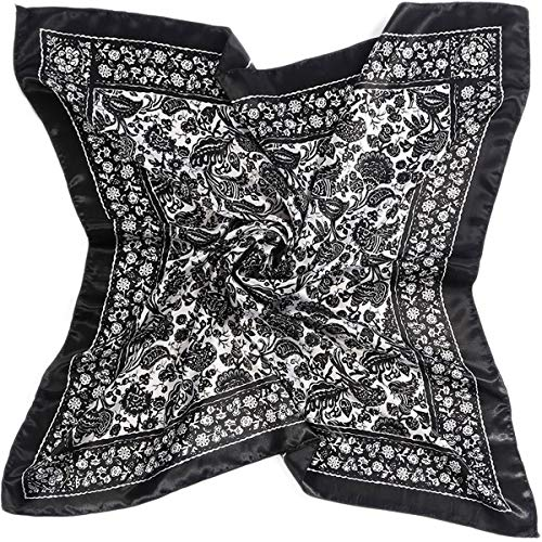 LiveZone Vintage Style Ladies Large Neckerchief Scarves 35