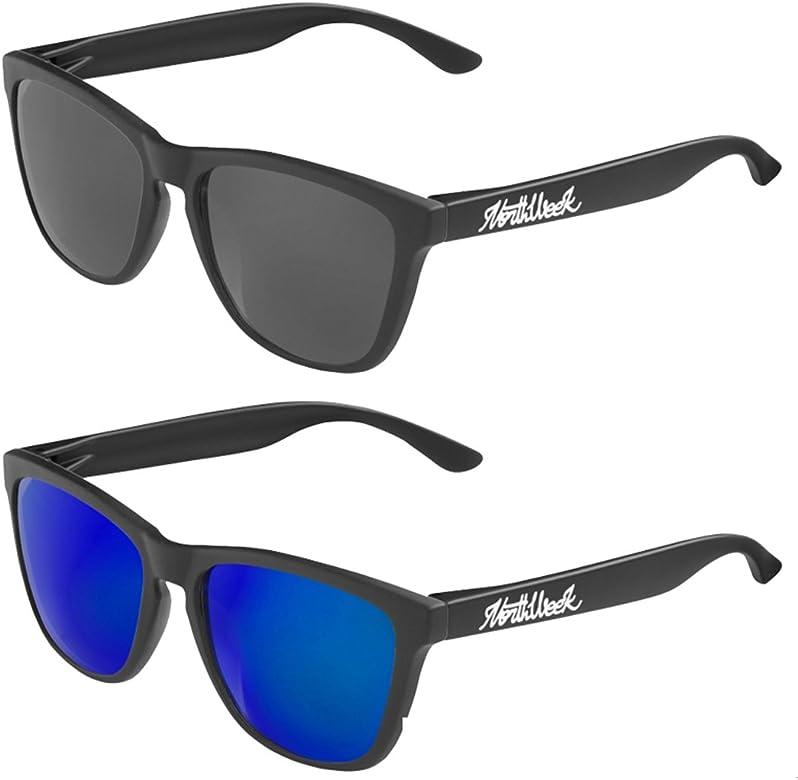 Pack Gafas de sol Northweek mate/black lente negra y lente ...