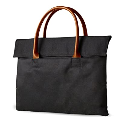 HaloVa Laptop Bag, Unisex Tote Bag for Laptops up to 15 Inches, Multifunctional Sleeve Briefcase Handbag Case Cover for Laptop, Tablet, MacBook Air/Pro, Notebook Computer