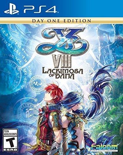 Ys Viii  Lacrimosa Of Dana   Playstation 4