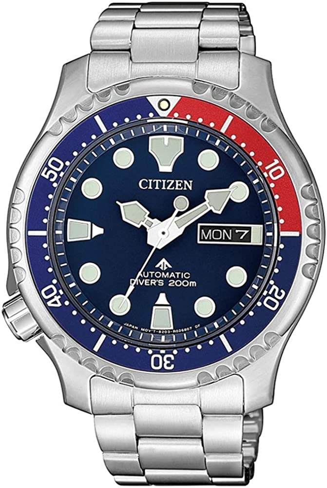 Citizen Promaster Automático Diver 200m. Acero para Hombre NY0086-83L