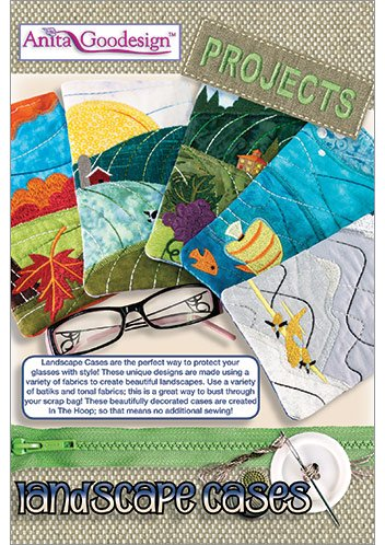 Anita Goodesign Embroidery Designs Landscape Cases