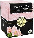 Pau D'arco Tea - Wild Harvested, Kosher, Caffeine Free, GMO-Free - 18 Bleach Free Tea Bags