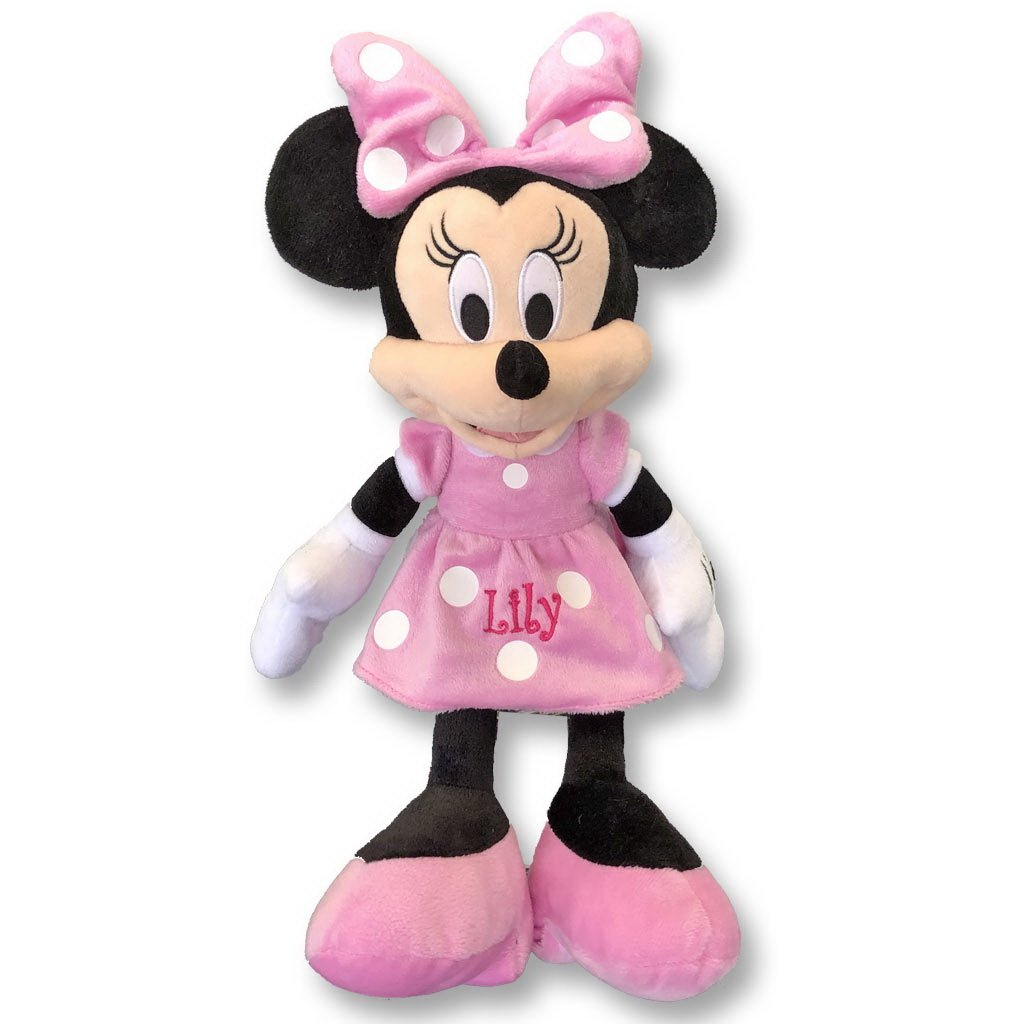 Personalized Licensed Disney's Plush Toy (Minnie Mouse 15'')