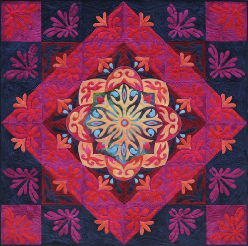 - Arabian Nights Quilt Pattern (Legacy Quilts By Ricky Tims)