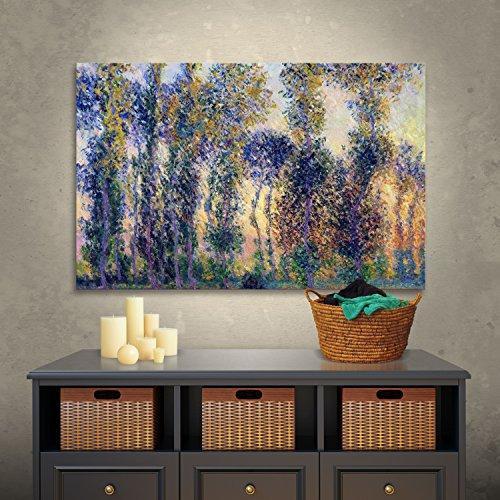 Art Wall Poplars Giverny Sunrise product image