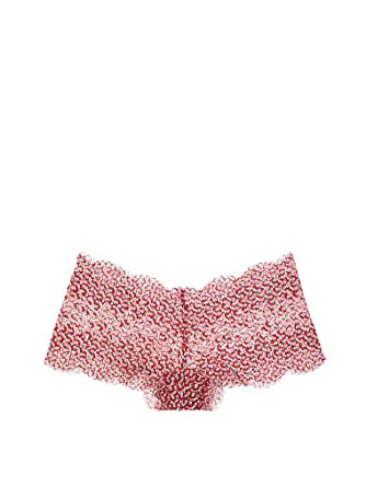 355f3a7d39 Victoria s Secret Body by Victoria The Lace Sexy Shortie Panty Candy Apple  Print (Medium)