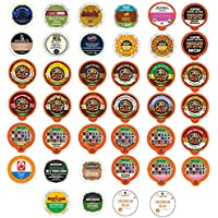 40-Ct Decaf Coffee Single Serve Cups for the Keurig K Cups 1.0 & 2.0 Brewer