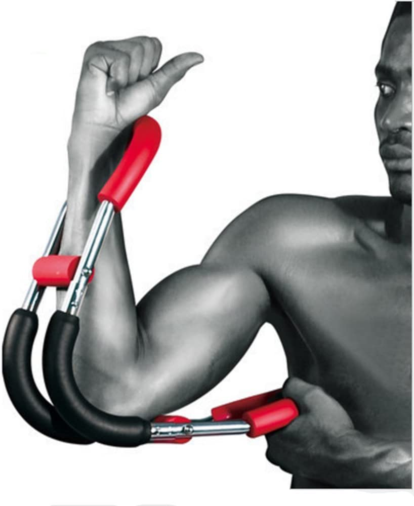 SOWELL Home Fitness Equipment Power Twister Arm and Chest Expander, A,B 4 Spring Free Combination to Achieve Resistance Adjustment from 30KG to 60KG.