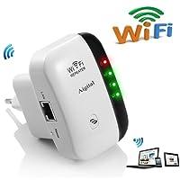 Wifi Répétiteur 300Mbps N 802.11 AP Wireless Mini Repeater Sans Fil Adaptateur WiFi Amplificateur de Signal Wireless 2.4GHz Antennes Intégrées Norme IEEE Interface RJ45 Protection WPS