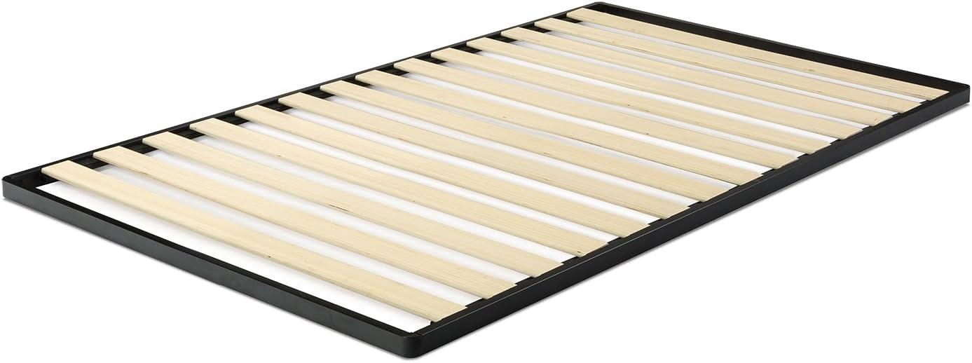 #1. Zinus Deepak Easy Assembly Wood Slat 1.6 Inch Bunkie Board / Bed Slat Replacement, Twin