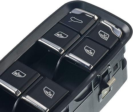 Fensterheber Schalter Taste Vorne Rechts Für Cayenne 92a Macan 95b Panamera 970 2010 2019 7pp959858rdml Auto